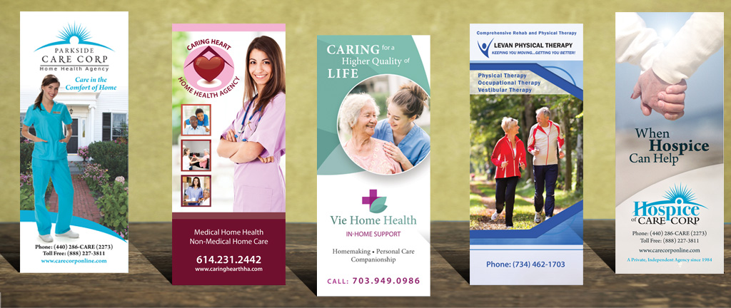 Home Care Brochures, Home Health Brochures, Physical Therapy Brochures