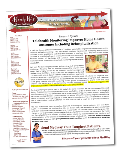 Home Health Newsletters